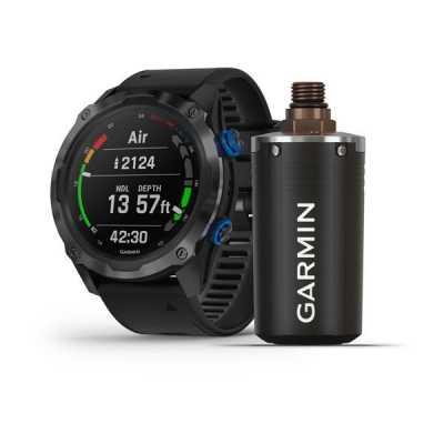 Годинник для дайвінга Garmin Descent Mk2i Carbon Titanium Gray DLC with Black Band