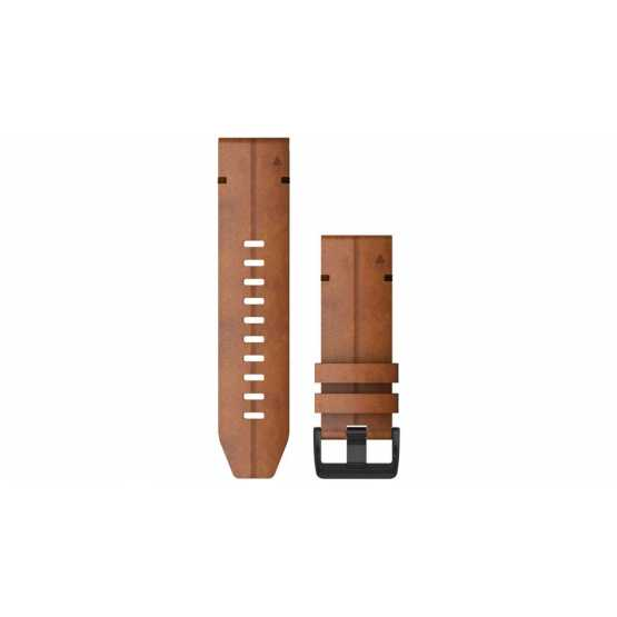 Ремешок для Fenix 6X 26mm QuickFit Chestnut Leather Band (010-12864-05)