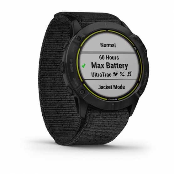 Годинник для мультиспорту Garmin Enduro Steel with Gray UltraFit Nylon Strap (010-02408-01)