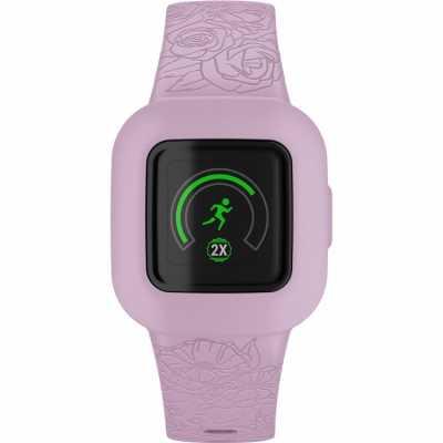Дитячий фітнес-браслет Garmin vivofit jr3 Floral Pink