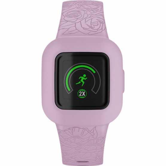 Детский фитнес-браслет Garmin vivofit jr3 Floral Pink (010-02441-01)