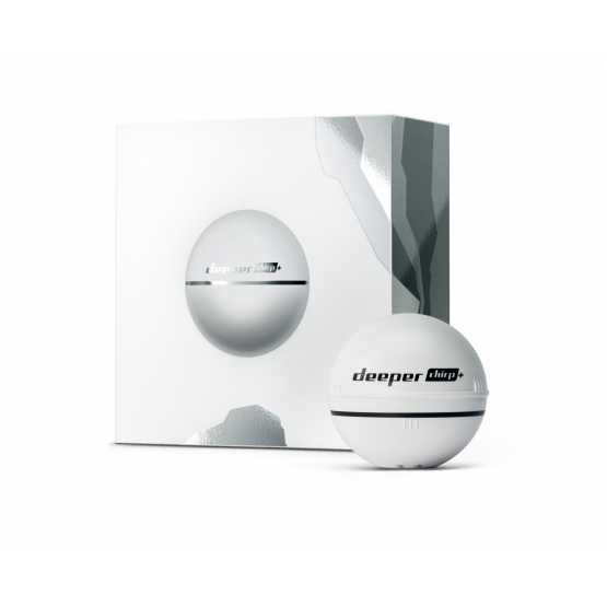 Бездротовий ехолот DEEPER CHIRP+ WiFi+GPS Limited Edition White (ITGAM0630)