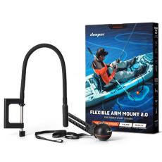 Универсальное гибкое крепление для эхолота Deeper для лодки\каяка с волновым компенсатором