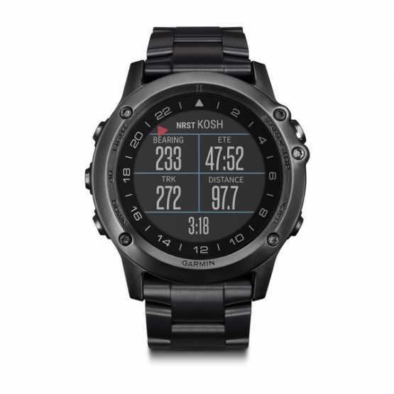Часы спортивные Garmin D2 Bravo Pilot Watch (010-01338-36)