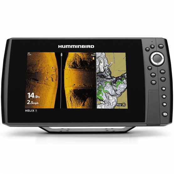 Эхолот/картплоттер Humminbird Helix 9x CHIRP MEGA SI GPS G2N (HELIX 9x CHIRP)