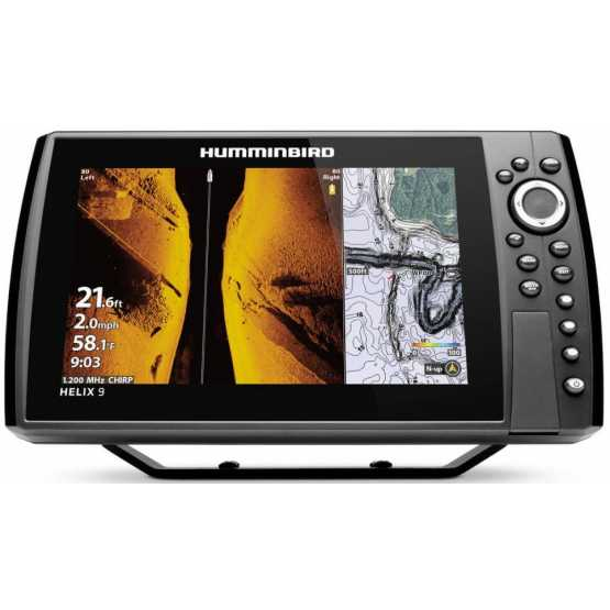Эхолот/картплоттер Humminbird Helix 9x CHIRP MEGA SI GPS G3N (HELIX 9x CHIRP)
