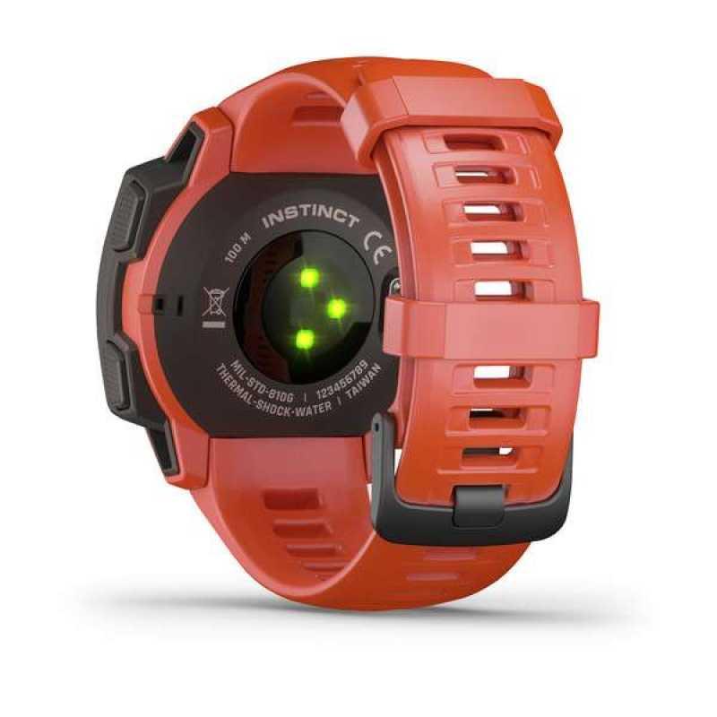 Часы для мультиспорта Garmin Instinct Flame Red (010-02064-02)