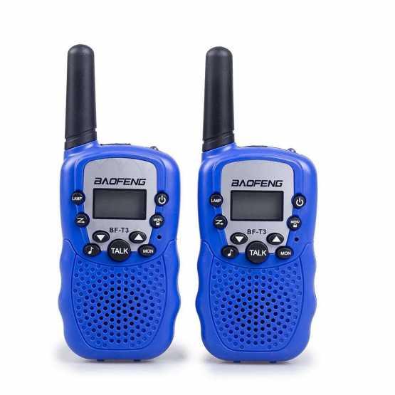Рация Baofeng BF-T3 UHF Blue (комплект x2)