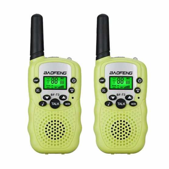 Рація Baofeng BF-T3 UHF Green (комплект x2)