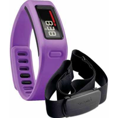 Garmin Vivofit Purple HRM Bundle