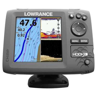 Эхолот/картплоттер Lowrance Hook-5 (000-12655-001 )