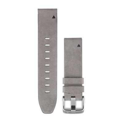 Ремешок для Fenix 5s 20mm QuickFit Grey Suede Leather Band