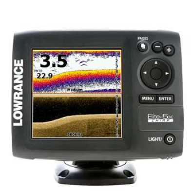 Эхолот Lowrance Elite-5x CHIRP