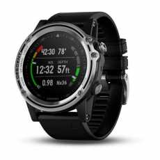 Часы для дайвинга Garmin Descent Mk1 Silver with Black band