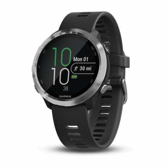 Годинник для бігу Garmin Forerunner 645 Music, GPS, EU/PAC, Black (010-01863-30)