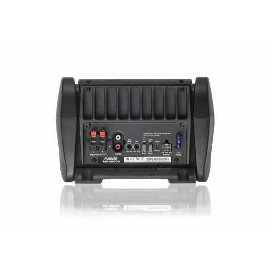 """Активный сабвуфер Fusion MS-AB206 6"""" со встроенным 4-канальным усилителем (MS-AB206)"""