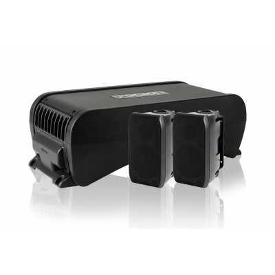 """Активний сабвуфер Fusion MS-AB206 6"""" з вбудованим 4-канальним підсилювачем"""