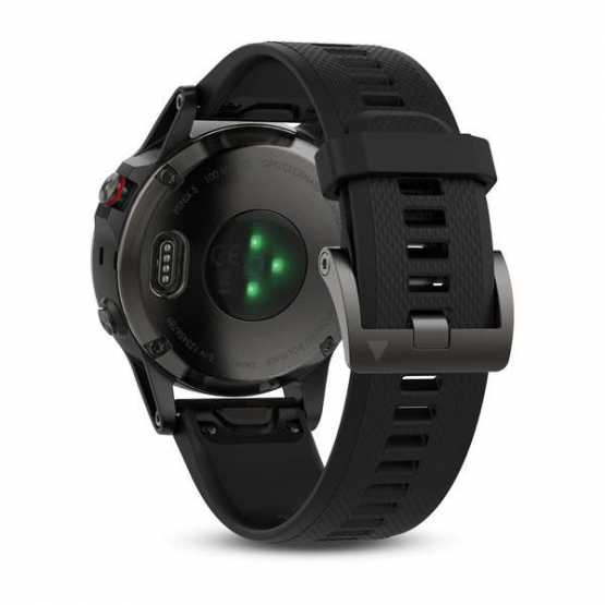 Часы для мультиспорта Garmin Fenix 5 - Performer Bundle - Slate grey with black band (010-01688-30)