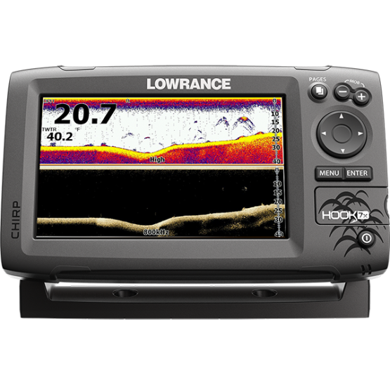 Эхолот/картплоттер Lowrance HOOK-7x (HOOK-7x)