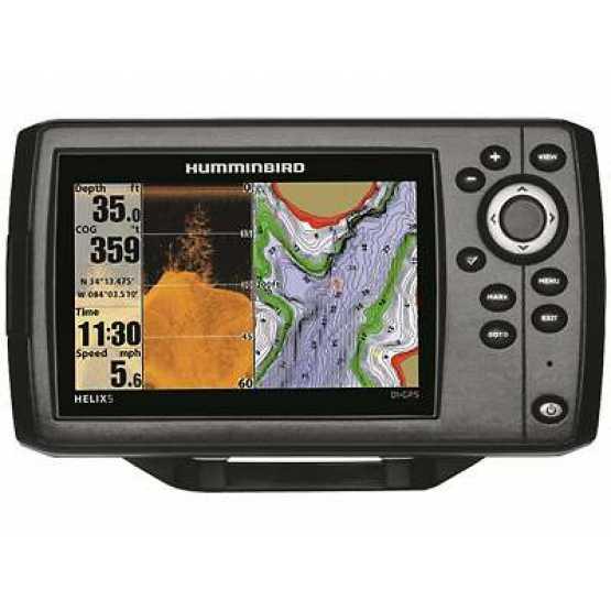 Эхолот/картплоттер Humminbird Helix 5x DI GPS (Helix 5x DI GPS)