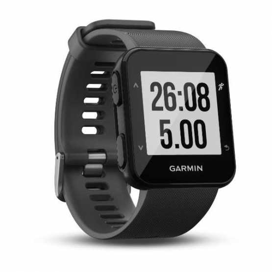 Часы для бега Garmin Forerunner 30, EU, Slate Grey (010-01930-03)