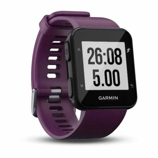 Часы для бега Garmin Forerunner 30, EU, Amethyst (010-01930-05)