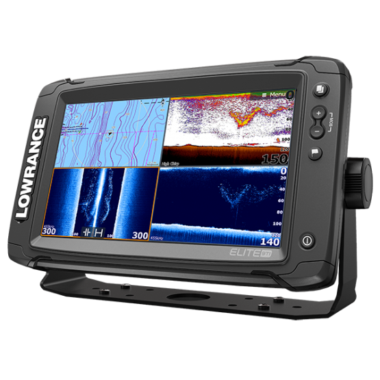 Эхолот/картплоттер Lowrance Elite-9 Ti Mid/High/Totalscan (000-13274-001)