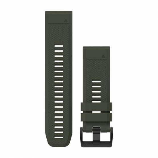 Ремінець для Fenix 5x 26mm QuickFit Moss Green Silicone Band (010-12517-03)