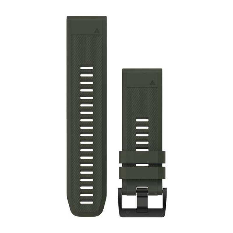 Ремешок для Fenix 5x 26mm QuickFit Moss Green Silicone Band
