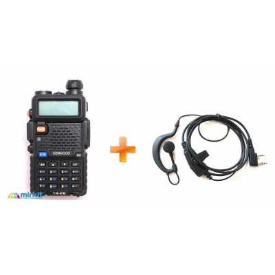 Рация Kenwood TK-F8 Dual Band + Гарнітура 1 провідна EMC 5