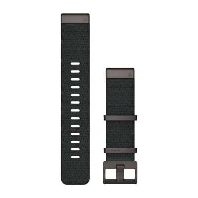 Ремешок для Garmin MARQ Jacquard-weave Nylon Strap – Heathered Black
