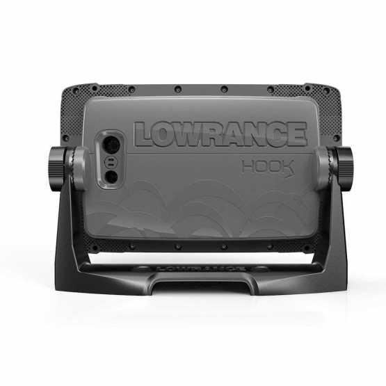 Эхолот картплоттер Lowrance Hook 27x Tripleshot + Акция: струбцина в подарок (000-14022-001)