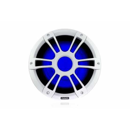 """Морские колонки (сабвуферы) Fusion SG-SL101SPW серии Signature 10"""" с LED-подсветкой, белые (010-01428-22)"""