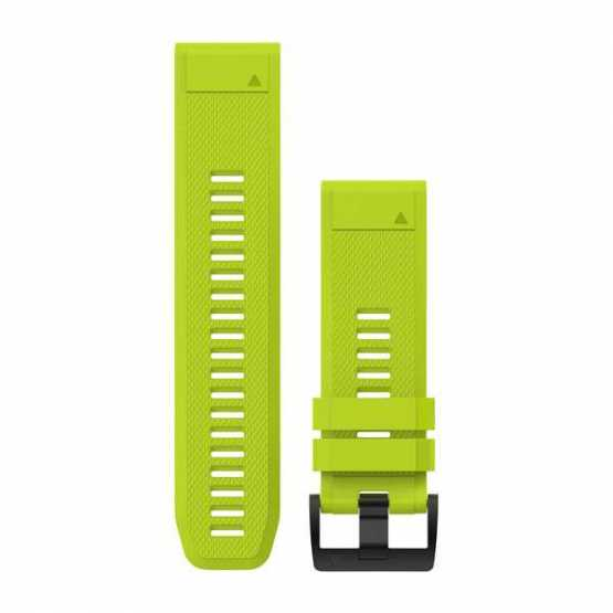 Ремешок для Fenix 5x 26mm QuickFit Amp Yellow Silicone Band (010-12517-01)