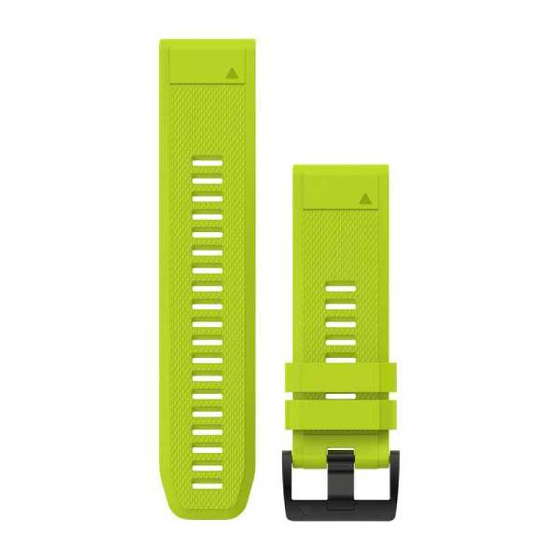 Ремешок для Fenix 5x 26mm QuickFit Amp Yellow Silicone Band