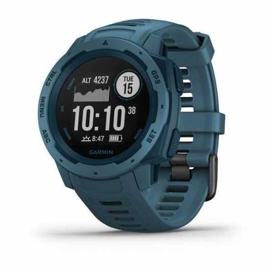 Спортивні годинник Garmin Instinct Lakeside Blue (010-02064-04)