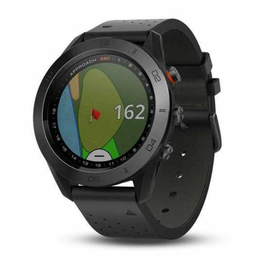 Часы для гольфа Garmin Approach S60 - Premium Black (010-01702-02)