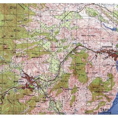Карты Генерального Штаба JNX