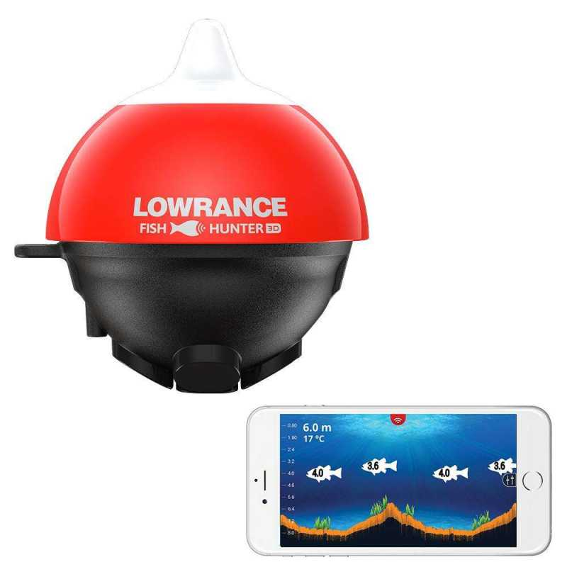 Бездротовий ехолот Lowrance FishHunter 3D (000-14240-001)