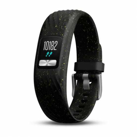 Фитнес браслет Garmin Vivofit 4 Black Speckle, S/M (010-01847-12)