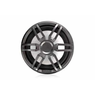 """Морские колонки (сабвуферы) Fusion XS-SL10SPGW 10"""" серии XS Sports с LED-подсветкой, серые/белые"""