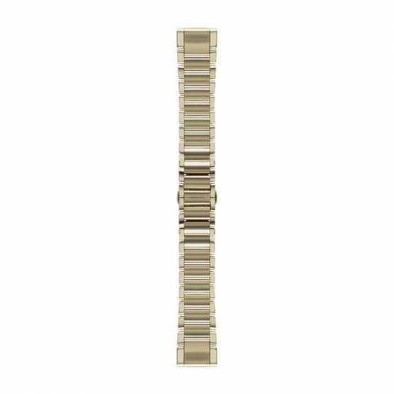 Ремешок для Fenix 5s 20mm QuickFit Champagne Stainless Steel Band (010-12491-17)