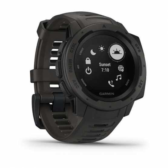 Годинник для мультиспорту Garmin Instinct Monterra Gray-Graphite (010-02064-00)