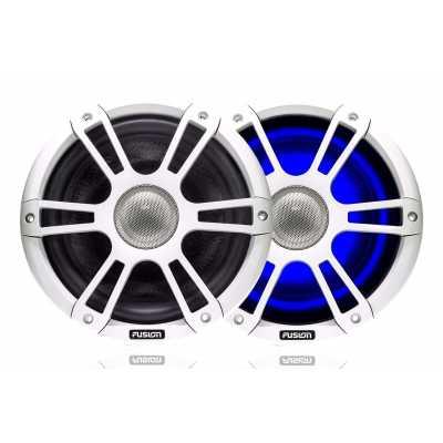 """Морские коаксильные колонки Fusion серии Signature SG-FL88SPW 8.8"""" 330 Вт, с LED-подсветкой, белые"""