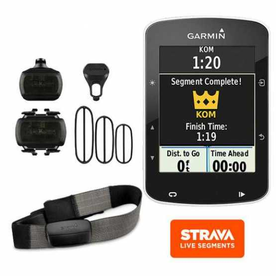Велокомпьютер Garmin Edge 520 Bundle WW (010-01369-00)