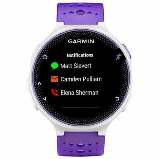Часы для бега Garmin Forerunner 230, GPS, EU, Purple & White (010-03717-45)