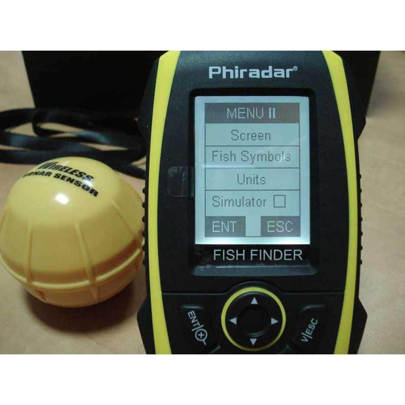 Переносной эхолот Phiradar FF268W