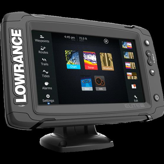 Эхолот/картплоттер Lowrance Elite-7 Ti Totalscan (000-12419-001)