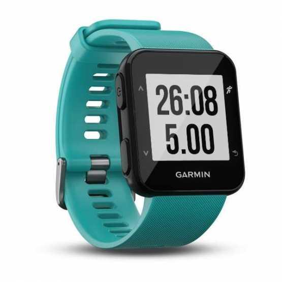 Часы для бега Garmin Forerunner 30, EU, Turquoise (010-01930-04)