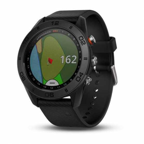 Часы для гольфа Garmin Approach S60 - Black  (010-01702-00)
